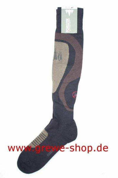 """FORESTA Strümpfe  """"Anti-Zecke"""" Zeckenschutz Antizecken Kniestrumpf Jagdstrümpfe 47/48"""