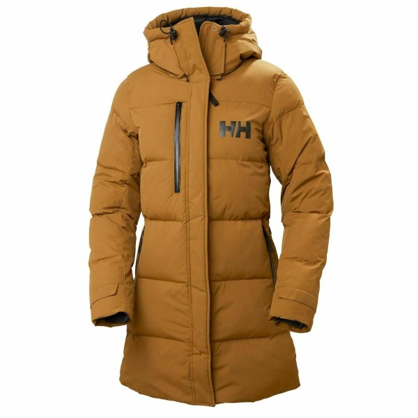 HH Helly Hansen Adore Puffy Parka 53205 cedar brown Damenparka Winterjacke Parka XL