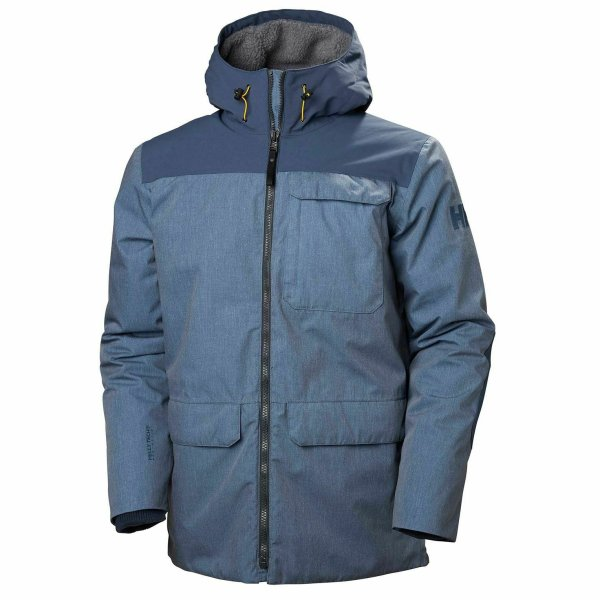 HH Helly Hansen Hudson Parka 53324 north sea Herren Winterparka Winterjacke