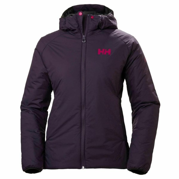 HH Helly Hansen Odin Stretch Hooded 62832 nightshade Damen Outdoor Winterjacke M