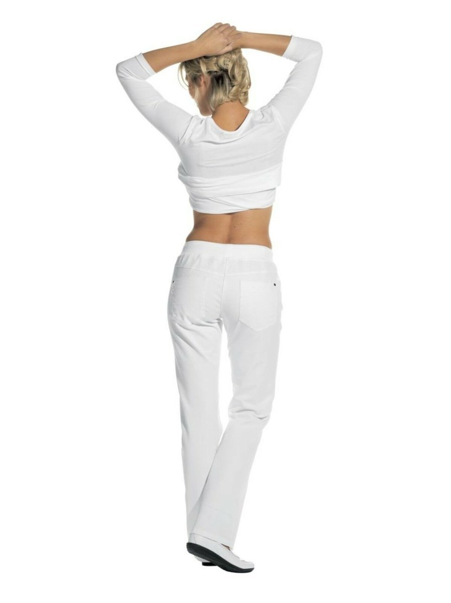 LEIBER Damenhose  08/6830   Damen Jeans Jeanshose Hose Fb. weiß Schritt 80cm