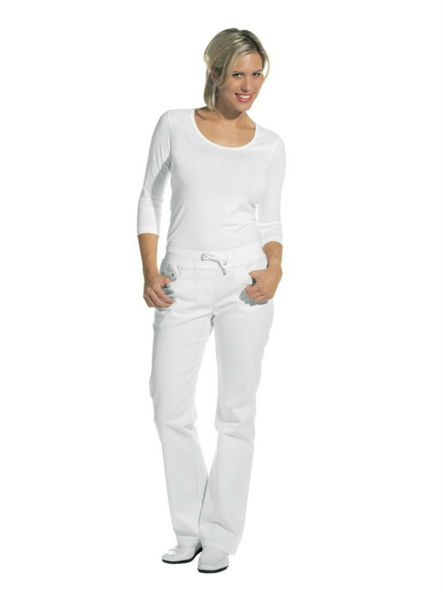 LEIBER Damenhose  08/6830   Damen Jeans Jeanshose Hose Fb. weiß Schritt 80cm 40