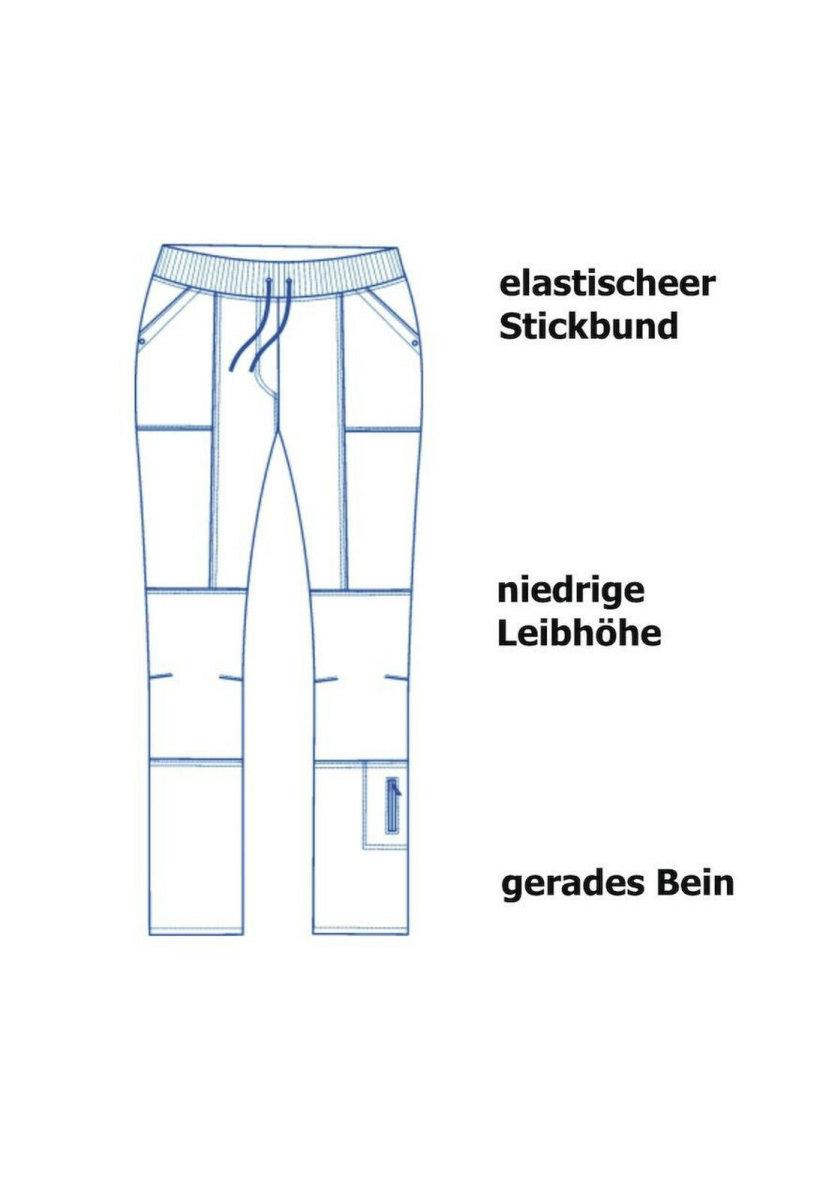 LEIBER Damenhose  08/6890  SLIM Style Damen Hose Fb. weiß  Schritt 80cm 46