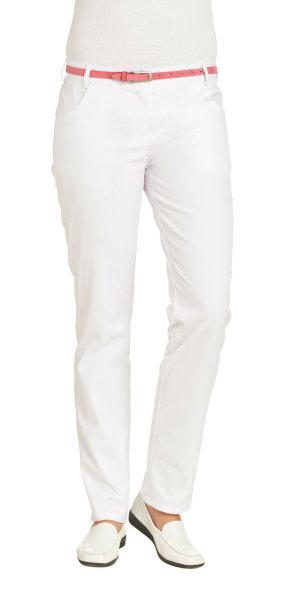 LEIBER Damenhose  08/7230  Classic Style Damen Hose Fb. weiß Schritt 80cm