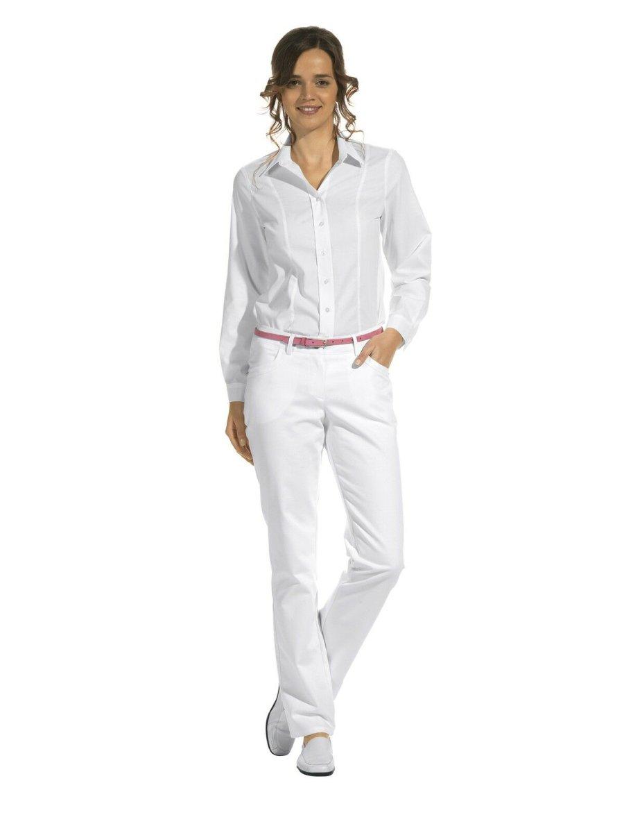 LEIBER Damenhose  08/7230  Classic Style Damen Hose Fb. weiß Schritt 80cm 46