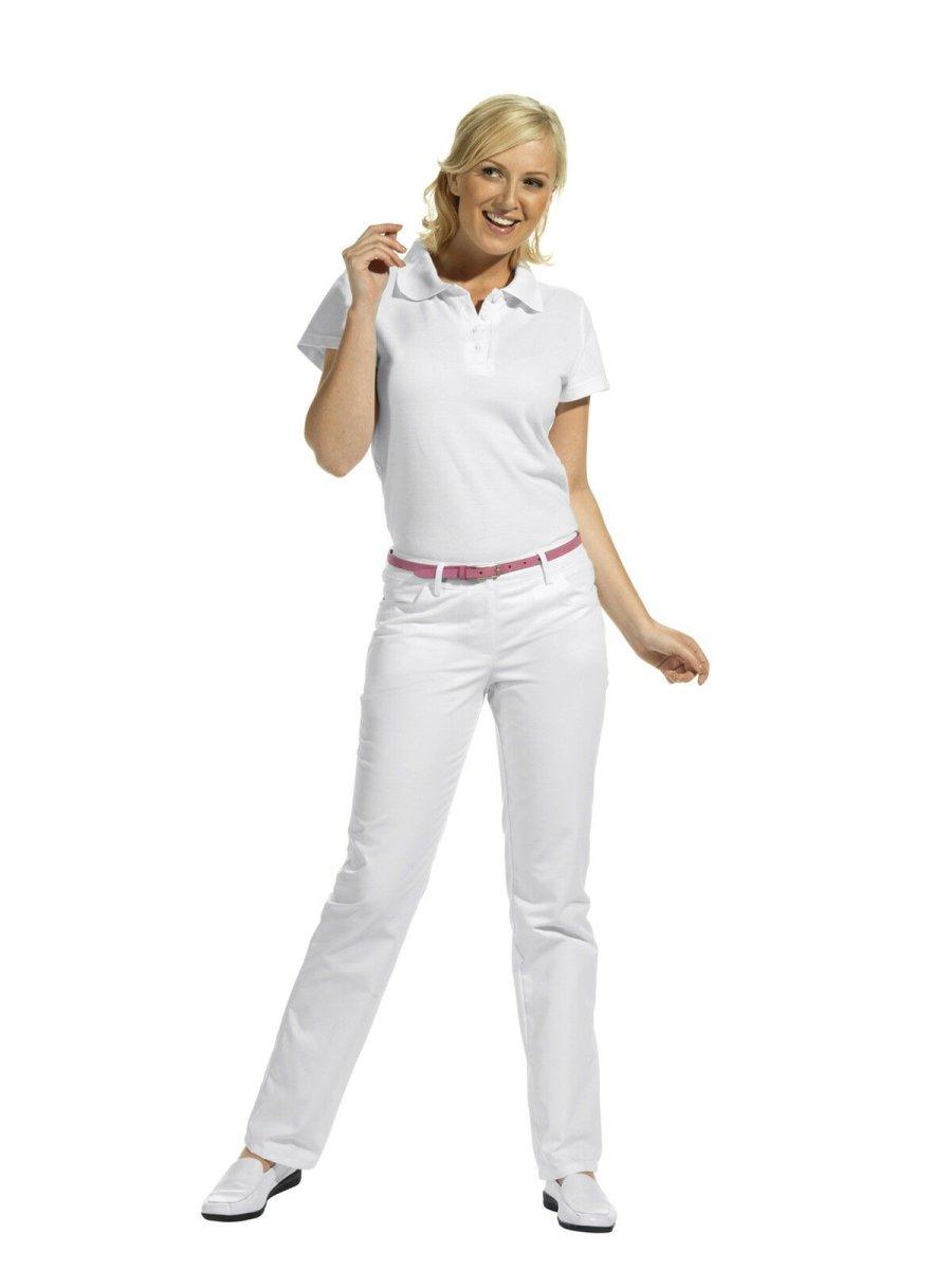LEIBER Damenhose  08/7231  Classic Style Damen Hose Fb. weiß Schritt 88cm 44L