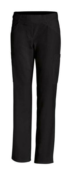 LEIBER Damenhose  08/7390  Classic Style Damen Kochhose Fb. schwarz Schritt 80cm 38
