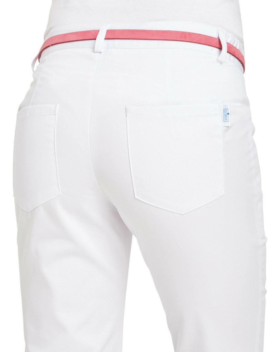 LEIBER Damenhose 08/6971 CLASSIC Damen Hose Dehnbund  Fb. weiß Schritt 88cm
