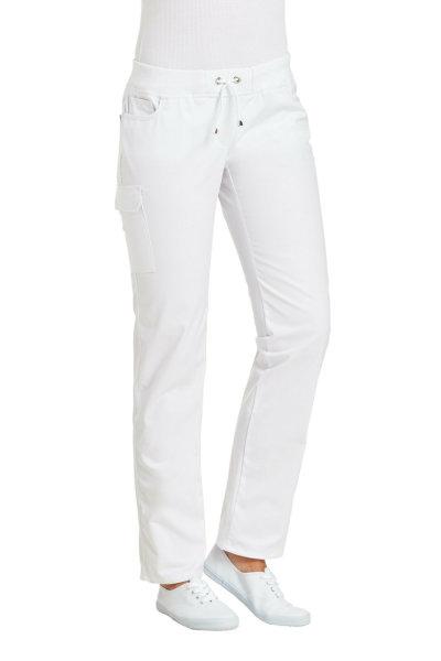 LEIBER Damenhose 08/6980 CLASSIC Style Damen Hose Fb. weiß Schritt 80cm 44