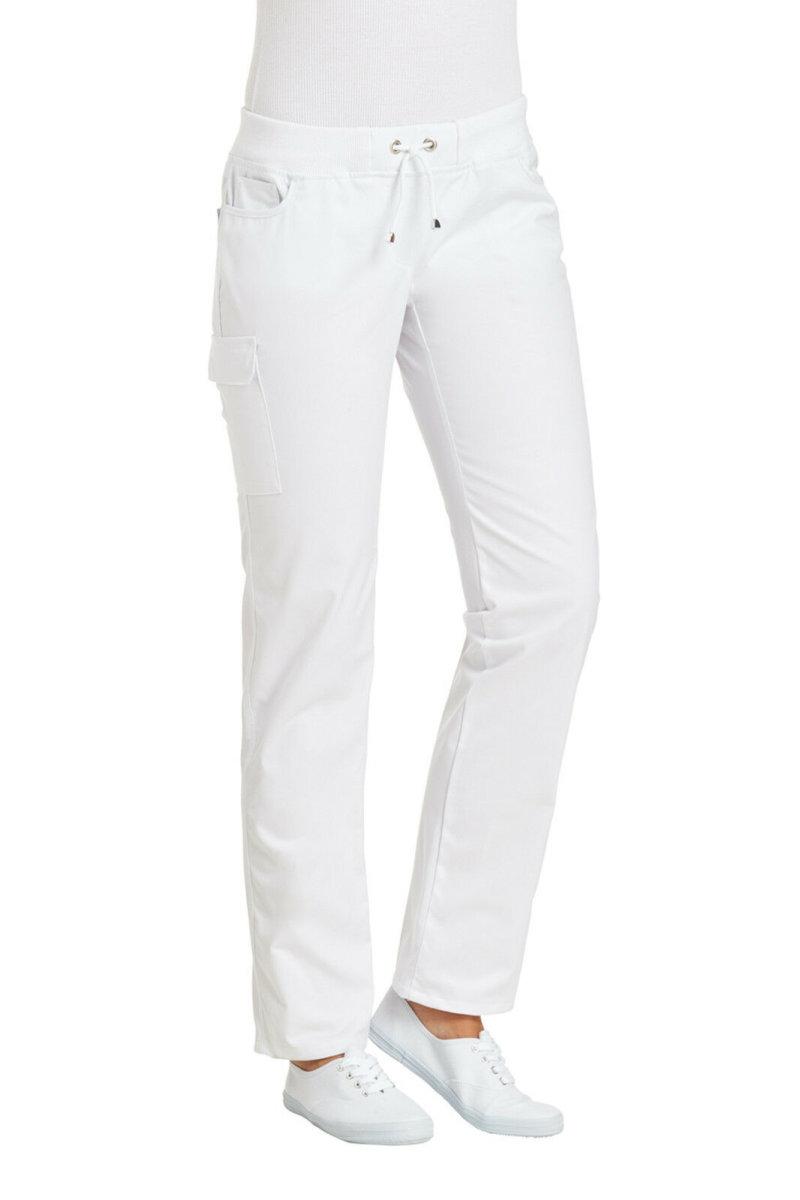LEIBER Damenhose 08/6980 CLASSIC Style Damen Hose Fb. weiß Schritt 80cm 48
