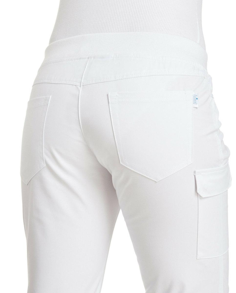 LEIBER Damenhose 08/6980 CLASSIC Style Damen Hose Fb. weiß Schritt 80cm 38
