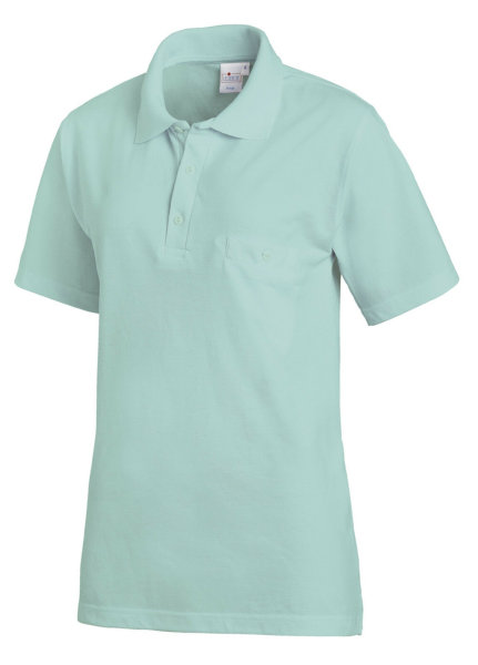 LEIBER Polo Shirt  08/241   Poloshirt 1/2 Arm Fb. mint Gastro Medizin Catering  M
