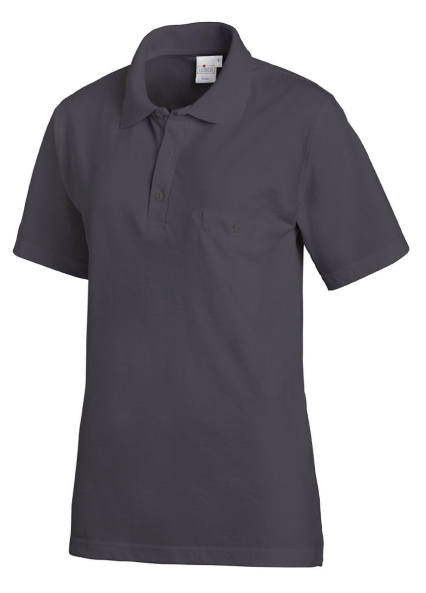 LEIBER Polo Shirt  08/241  Poloshirt 1/2 Arm Fb. grau Gastro Medizin Catering  XXL