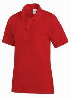 LEIBER Polo Shirt  08/241  Poloshirt 1/2 Arm Fb. rot  Gastro Medizin Catering  S