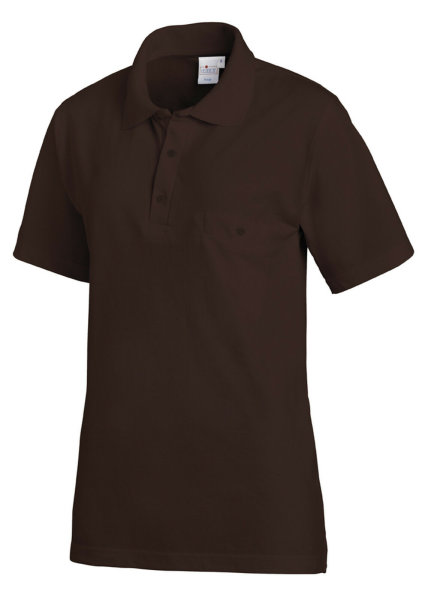 LEIBER Polo Shirt  08/241  Poloshirt 1/2 Arm Fb. toffee Gastro Medizin Catering