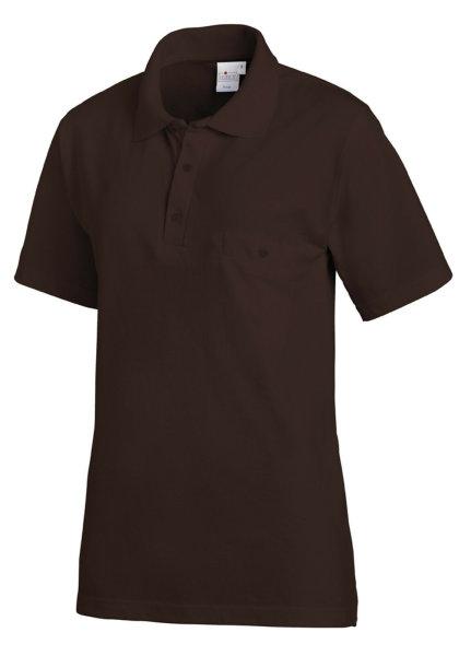 LEIBER Polo Shirt  08/241  Poloshirt 1/2 Arm Fb. toffee Gastro Medizin Catering  M