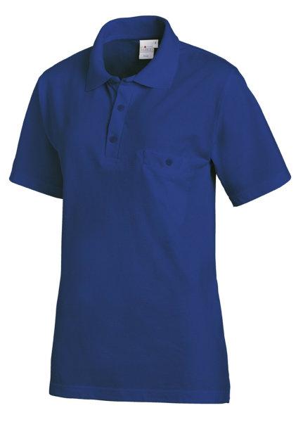LEIBER Polo Shirt  08/241  Poloshirt 1/2 Arm königsblau Gastro Medizin Catering  M