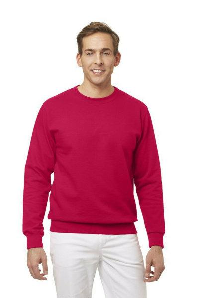 LEIBER Sweat Shirt  10/882 rot Sweatshirt Rundhals unisex Medizin & Pflege Shirt 3XL