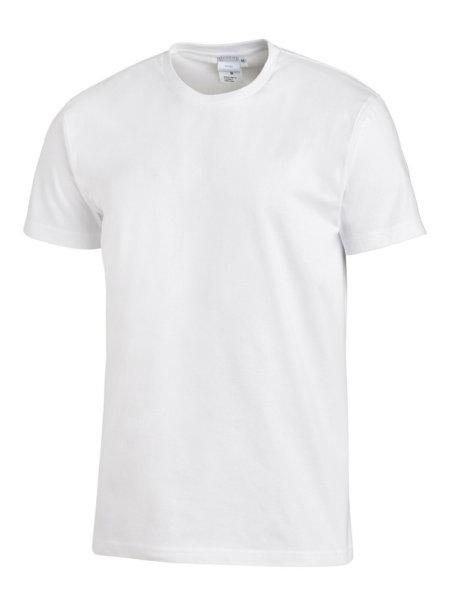 LEIBER T-Shirt  08/2447  unisex 1/2 Arm Shirt Fb. weiß Damen & Herren Shirt
