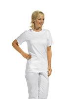 LEIBER T-Shirt  08/2447  unisex 1/2 Arm Shirt Fb. weiß Damen & Herren Shirt 2XL