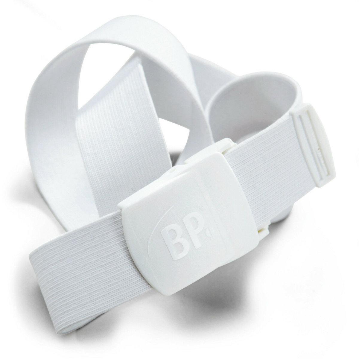 BP Gürtel 1080 weiß unisex Hosengürtel Kunststoffschnalle verstellbar one size