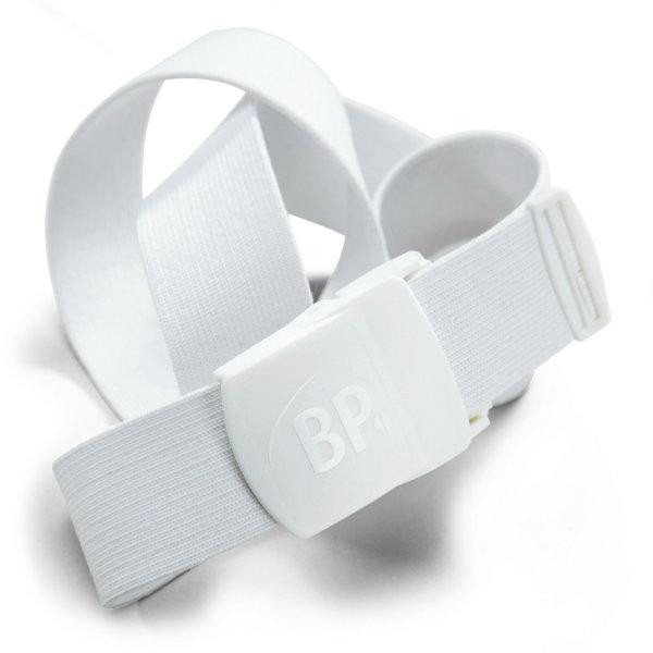 BP Gürtel 1080 weiß unisex Hosengürtel Kunststoffschnalle verstellbar one size 02 (bis 130cm)