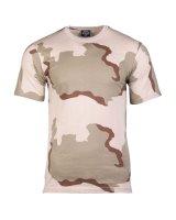 MIL-TEC Tarn T-Shirt  Army Shirt Tarn-Shirt 3-col.-desert...