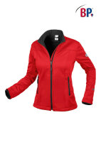 BP Workwear Damen Softshelljacke 1695 rot Damenjacke...