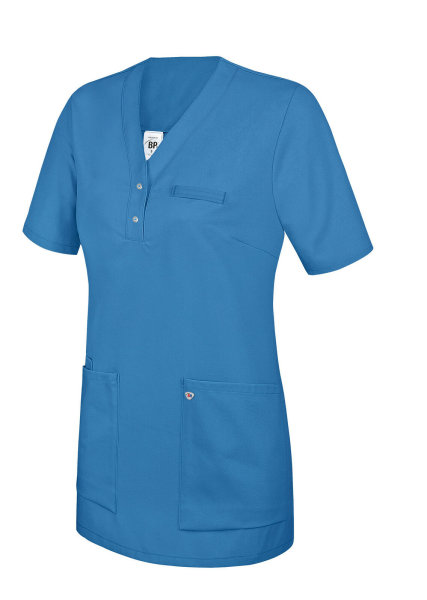 BP Schlupfkasack 1740 Damenkasack 1/2 Arm Kasack Schwesternkleidung Fb. azurblau