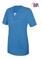 BP Schlupfkasack 1740 Damenkasack 1/2 Arm Kasack Schwesternkleidung Fb. azurblau 2XL