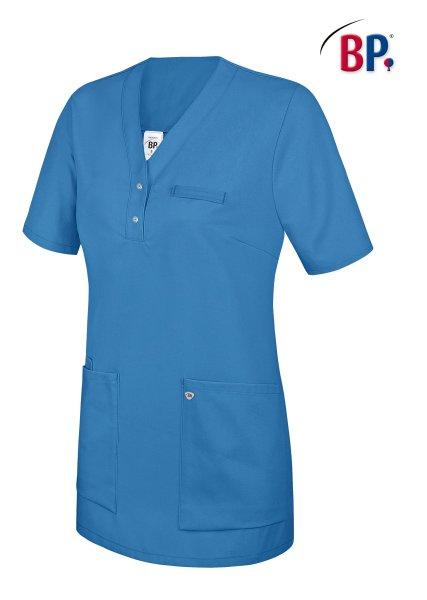 BP Schlupfkasack 1740 Damenkasack 1/2 Arm Kasack Schwesternkleidung Fb. azurblau S