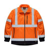 Dickies Hi-Vis PSA Jacke SA4006 orange Softshell...