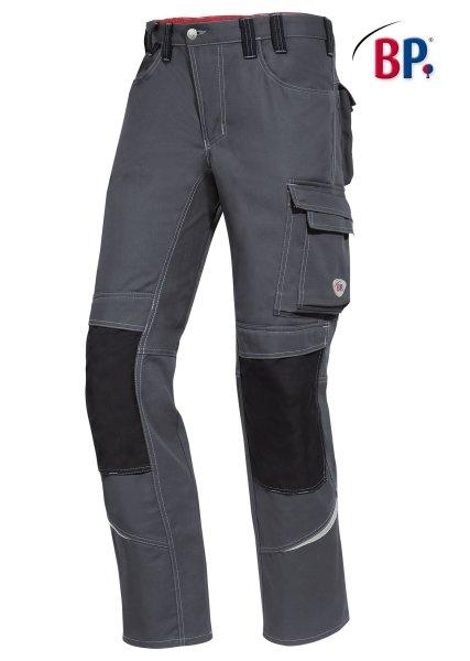 BP Workwear Arbeitshose 1803 Berufshose Workerhose Bundhose dunkelgrau / schwarz 056