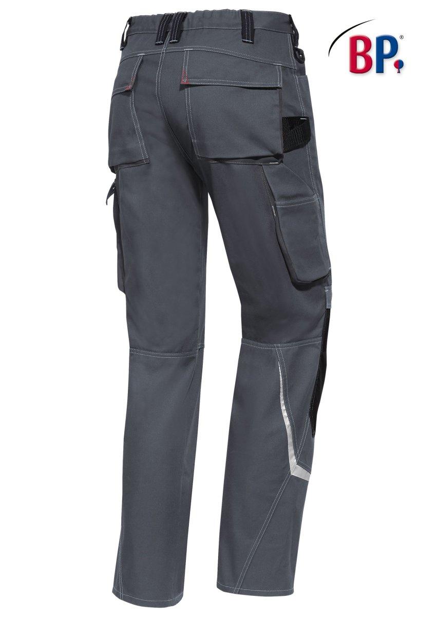 BP Workwear Arbeitshose 1803 Berufshose Workerhose Bundhose dunkelgrau / schwarz 052