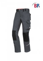 BP Workwear Arbeitshose 1803 Berufshose Workerhose Bundhose dunkelgrau / schwarz 024