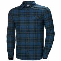 HH Helly Hansen Classic Check Shirt LS 62923 blue fog...
