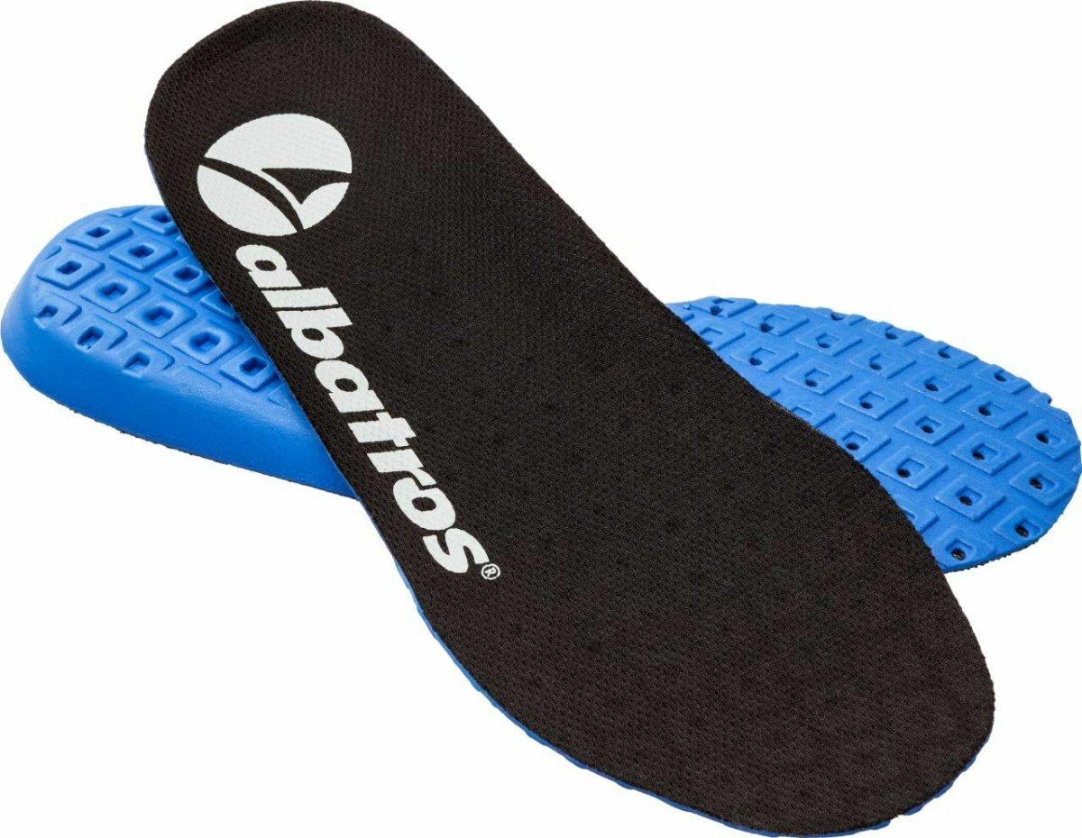 Albatros Komfort Einlegesohle Fußbett 204750 COMFIT® AIR schwarz 45