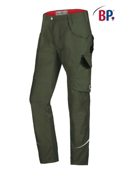 BP Workwear Arbeitshose 1980 oliv BPlus Herrenhose Berufshose High Performance 25