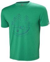 HH Helly Hansen Skog Graphic T-Shirt 62856 pepper green...