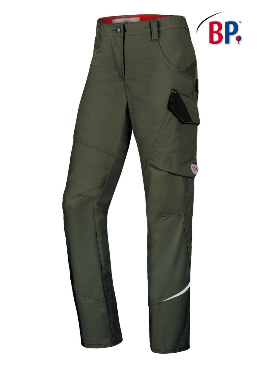 BP Workwear Arbeitshose 1981 oliv BPlus Damenhose Berufshose High Performance 48