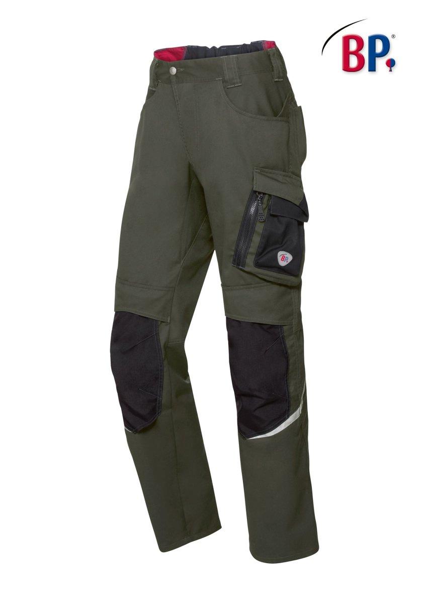 BP Workwear Arbeitshose 1998 oliv / schwarz Herren Berufshose High Performance 50