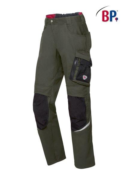 BP Workwear Arbeitshose 1998 oliv / schwarz Herren Berufshose High Performance 25
