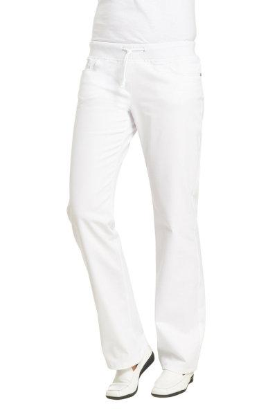 LEIBER Damenhose  08/6832  Damen Jeanshose Fb. weiß Kurzgröße Schritt 75cm
