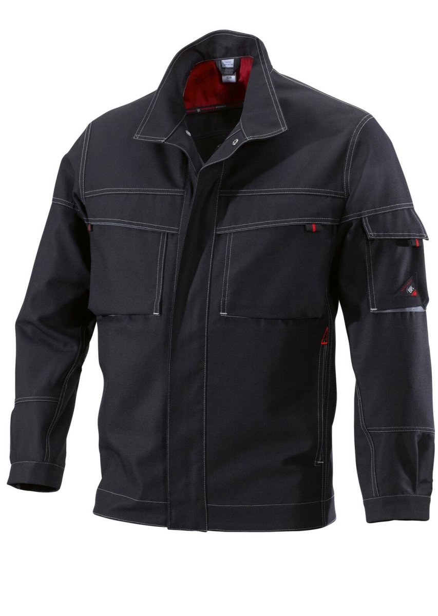 BP Workwear Arbeitsjacke 1787 Canvas Worker Jacke Berufsjacke schwarz  anthrazit 52/54