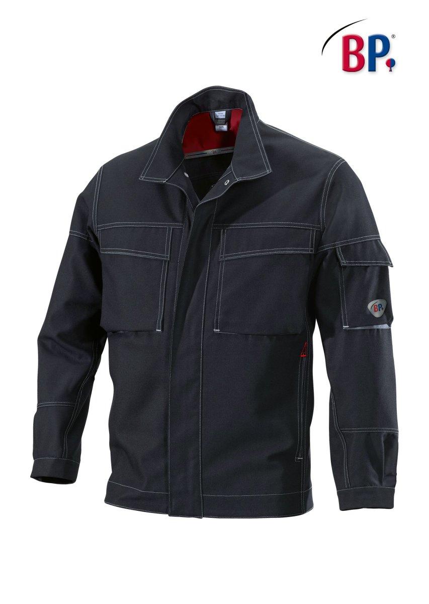 BP Workwear Arbeitsjacke 1787 Canvas Worker Jacke Berufsjacke schwarz  anthrazit 60/62