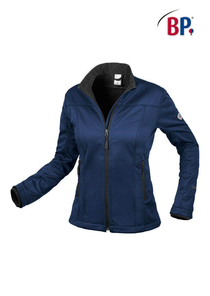 BP Workwear Damen Softshelljacke 1695 nachtblau Damenjacke Softshell Essential