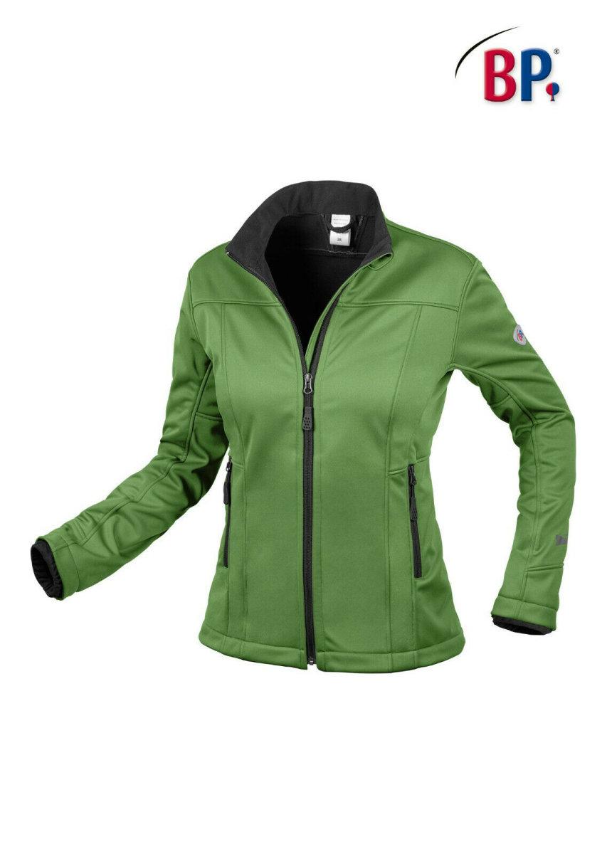 BP Workwear Damen Softshelljacke 1695 new green Damenjacke Softshell Essential