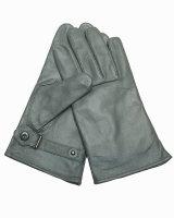 MIL-TEC BW Lederfingerhandschuhe Handschuhe steingrau...