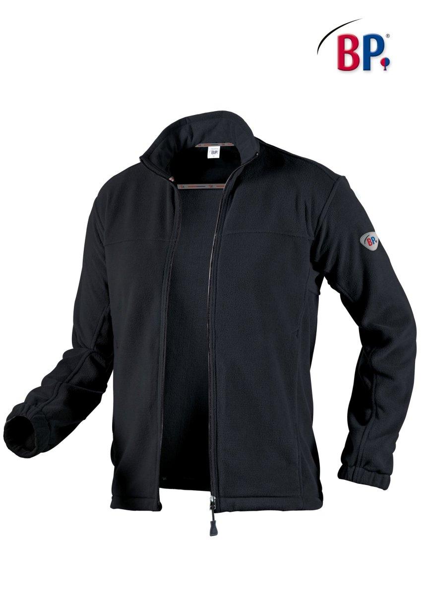 BP Workwear Fleecejacke 1872 Fleece Jacke schwarz Freizeitjacke Outdoorjacke S