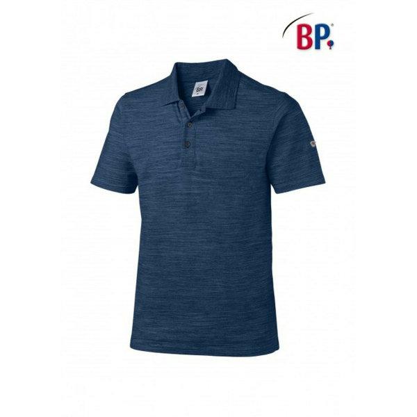 BP Workwear Poloshirt für Sie & Ihn 1712 space blau modern fit Stretch Shirt 3XL